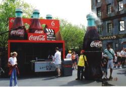 アメリカといえばコカコーラ