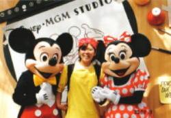 ミッキーとミニーちゃん☆